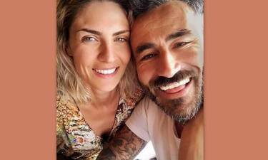 Γιώργος Μαυρίδης: Ξέγνοιαστες καλοκαιρινές στιγμές με τη σύντροφό του, Κρίστη Καθάργια
