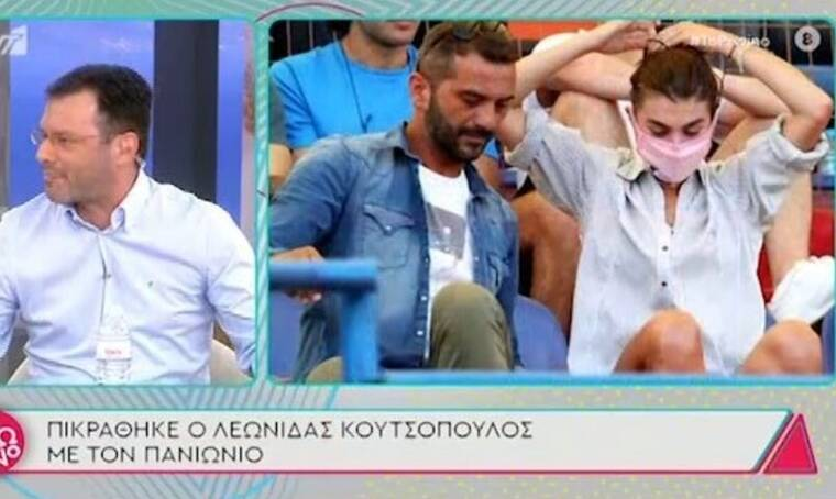 Κουτσοπούλος - Μιχαλοπούλου: Είναι αχώριστοι! Πήγαν μαζί ακόμα και στο γήπεδο για να δουν αγώνα!