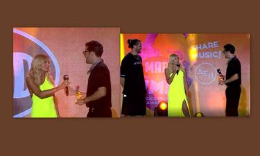 ΜAD VMA 21: Εκθαμβωτική η Ιωάννα Μαλέσκου – Το βραβείο στον Αργυρό και η ατάκα «φωτιά»