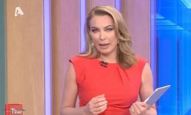 T-Live: Η Τατιάνα Στεφανίδου αποχαιρέτησε τους τηλεθεατές με μια... αποκάλυψη!