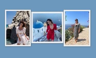 Οι καλοκαιρινές εμφανίσεις της Σωτηροπούλου… οδηγός μόδας για κάθε προορισμό
