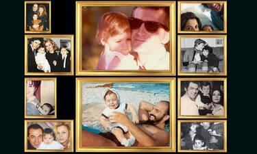 Blast from the past: Σπάνιες φωτογραφίες διάσημων Ελλήνων με τα παιδιά τους!