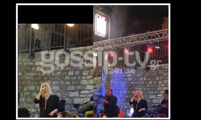 Η Χαρά Βέρρα ξεκίνησε τις live εμφανίσεις - Τρικούβερτο γλέντι στο Πήλιο! (exclusive pics)