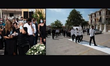Θρήνος στην κηδεία της μικρής Αναστασίας – Συντετριμμένη η Έρρικα Πρεζεράκου