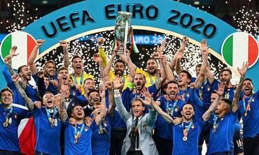 Euro 2020: Βασίλισσα της Ευρώπης η Ιταλία, βασιλιάς στην τηλεθέαση ο ΑΝΤ1!