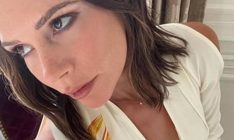 Victoria Beckham: Αυτό το φόρεμα της φέρνει καλή τύχη (photos)