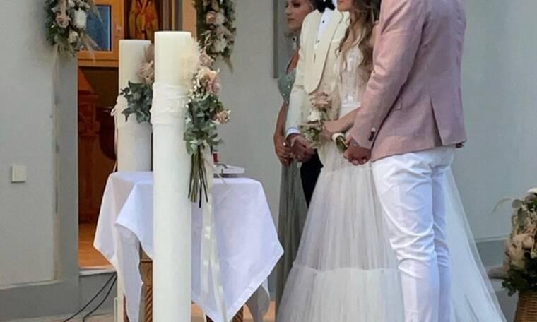 Γάμος έκπληξη στη showbiz – Οι πρώτες φωτό