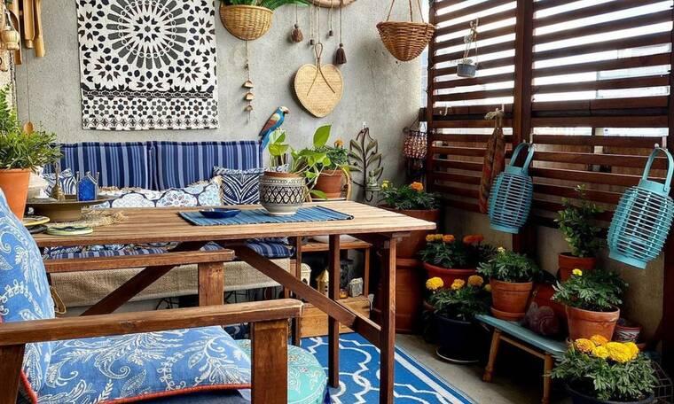 5 ιδέες για να ομορφύνεις το μπαλκόνι σου παρά τον καύσωνα