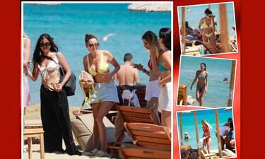 «Αναστέναξε» η Πάρος με τα κορίτσια του GNTM σε παραλία του νησιού!