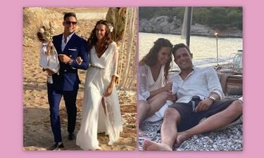 Πούμπουρας – Θεοχαρίδη: Ο πιο salty γάμος της χρονιάς - Ξυπόλυτοι στην άμμο μετά το μυστήριο
