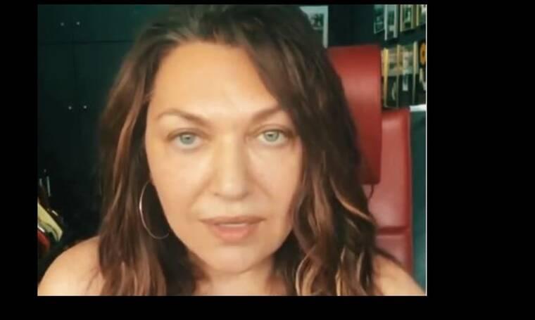 Καίτη Γαρμπή: Η νέα ανακοίνωσή της μέσω ενός ολιγόλεπτου βίντεο