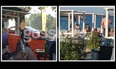 Γιάννης Σπαλιάρας: Διακοπές στο Λιτόχωρο με τον Πυργίδη από το Big Brother (exclusive pics)