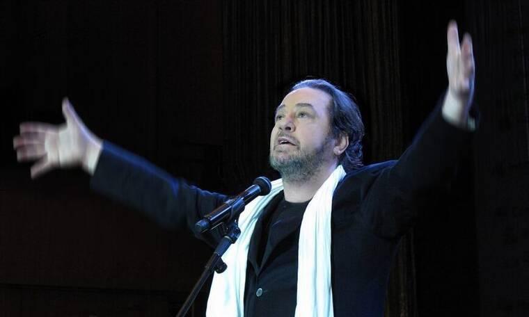 O Γιάννης Πάριος στο θέατρο Άλσος