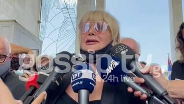Κηδεία Βοσκόπουλου: «Λύγισε» η Μαρία Ιωαννίδου: «Είμαι συντετριμμένη. Έχασα έναν δικό μου άνθρωπο»