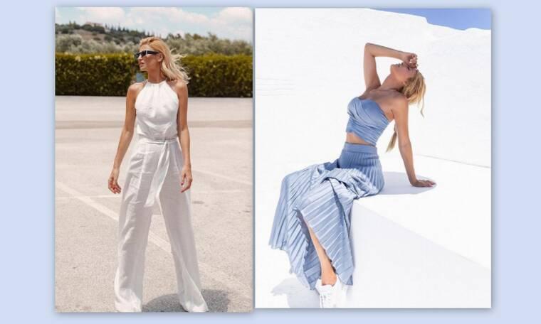 Φαίη Σκορδά: Πόζαρε με το ωραιότερο summer dress στο χρώμα που έχει κάνει θραύση φέτος το καλοκαίρι