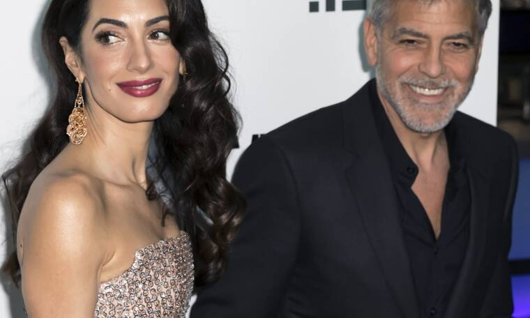 Η σπάνια εμφάνιση της Amal και του George Clooney: Πού τους εντόπισαν οι παπαράτσι