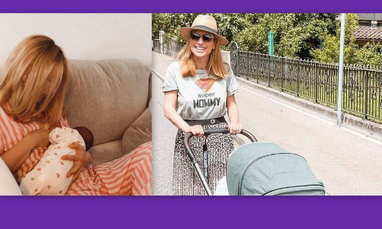 Μαρία Ηλιάκη: Η έξοδος με την κόρη της στη Ζυρίχη και ο δημόσιος θηλασμός