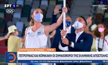 Ολυμπιακοί Αγώνες 2020: Οι πρώτες δηλώσεις Πετρούνια-Κορακάκη μετά την τελετή έναρξης συγκινούν!