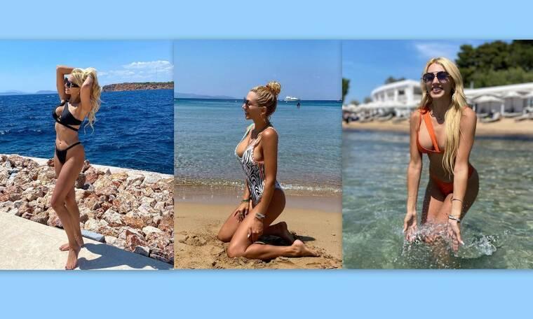 Σπυροπούλου: Τα αμέτρητα μαγιό της και οι εμφανίσεις παραλίας που θα ζηλέψεις