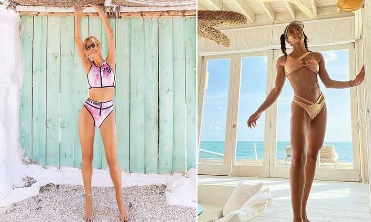 9+1 Ελληνίδες celebrities ποζάρουν με sexy μαγιό και ανεβάζουν τη θερμοκρασία στα ύψη