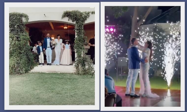 Έξαψη: Πρωταγωνιστής της σειράς ντύθηκε γαμπρός – Μαγικά πλάνα από τον παραμυθένιο γάμο του