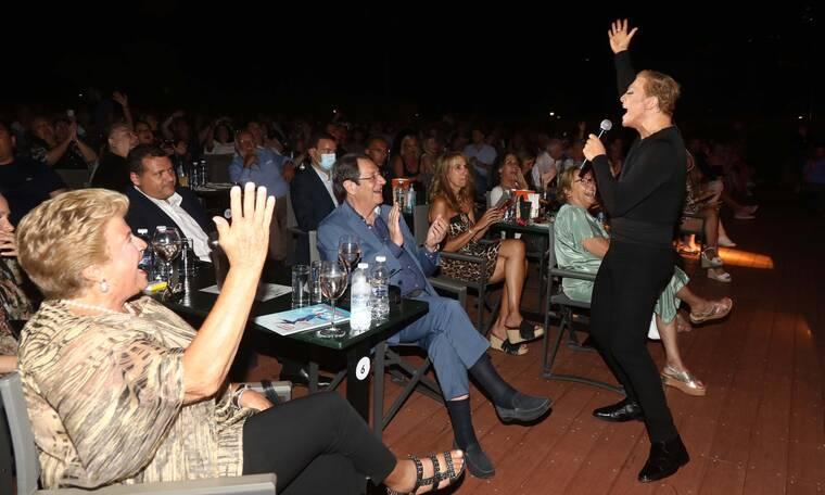 Θέατρο Άλσος:Το προεδρικό ζεύγος της Κύπρου, Νίκος και Άντρη Αναστασιάδη απόλαυσε μια υπέροχη βραδιά