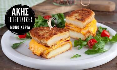 Έχεις φάει τοστ από πατάτες; Δες τι προτείνει ο Άκης Πετρετζίκης