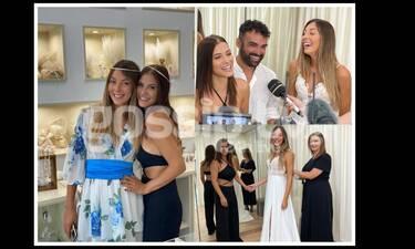 Πρόβα νυφικού για τη Ματίνα Ζάρα-Ο Χούτος παντρεύεται με κουμπάρα τη Λάουρα Νάργες (exclusive pics)