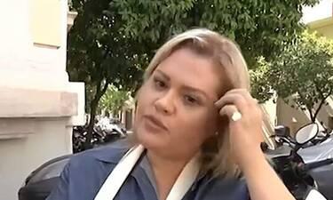 Γεωργακοπούλου: Η σοκαριστική περιγραφή της για την επίθεση που δέχτηκε: «Με χτύπησε… με παρέσυρε»