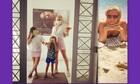 Κατερίνα Καραβάτου: Το άλμπουμ των διακοπών της με τα παιδιά στην Άνδρο!