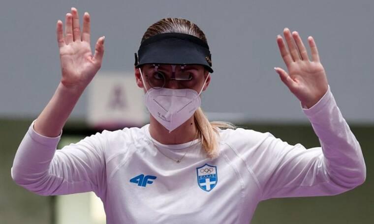 Ολυμπιακοί Αγώνες-Σκοποβολή: Στην 6η θέση η Άννα Κορακάκη (video+photos)