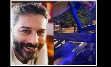 Αλέξανδρος Μπουρδούμης: Πήγε θέατρο με... πατερίτσες μετά το ατύχημα που είχε