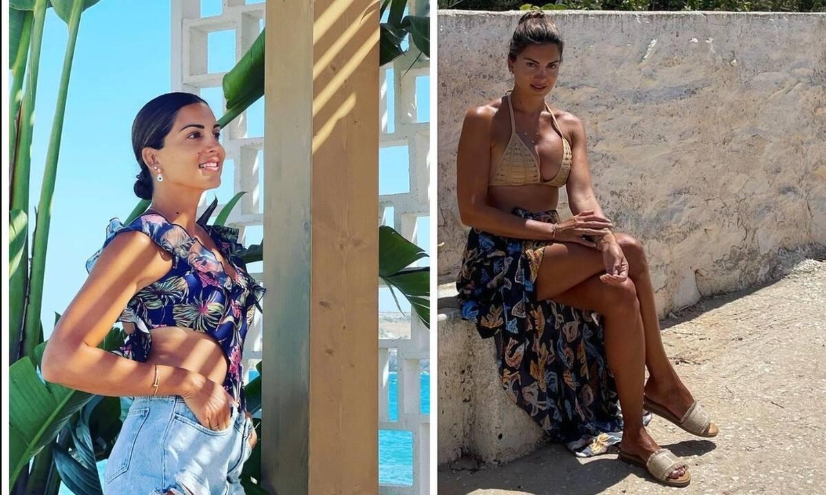 Σταματίνα Τσιμτσιλή: Πιο μαυρισμένη από ποτέ - Με λευκό φόρεμα στην Πάρο και χρώμα που θα ζηλέψεις