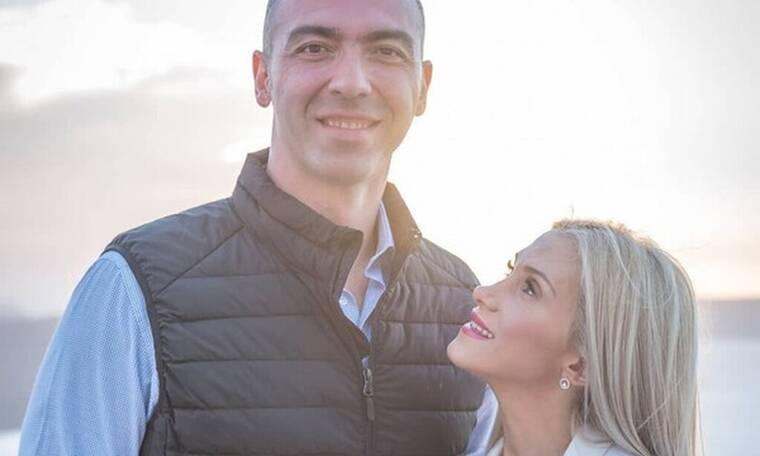 Αλέξανδρος Νικολαΐδης-Δώρα Τσαμπάζη: Οι πρώτες φωτό από τη βάφτιση του γιου τους