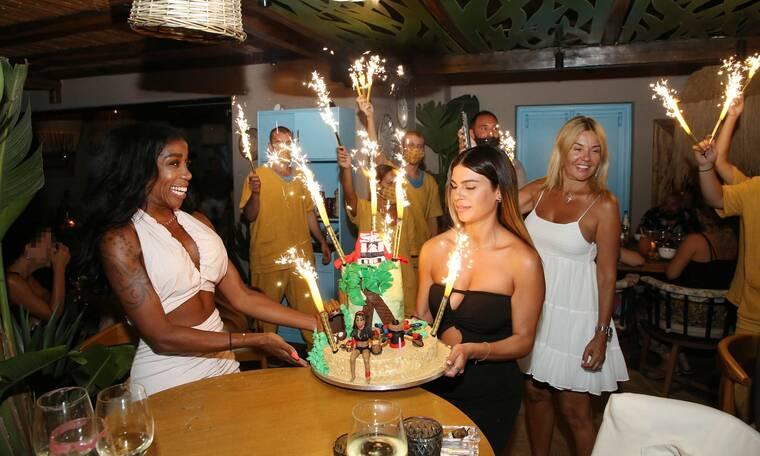 Ελίζαμπεθ Ελέτσι: Γιόρτασε τα γενέθλιά της στη Μύκονο! Η έκπληξη της Κεφαλά και η εντυπωσιακή τούρτα