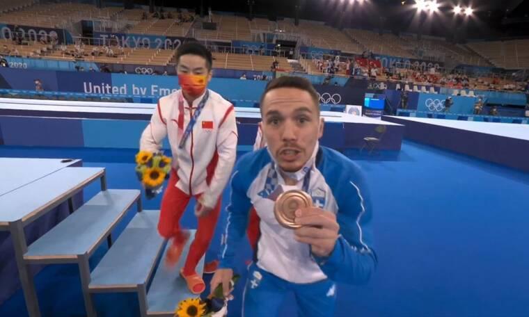 Ολυμπιακοί Αγώνες: Λευτέρης Πετρούνιας - Αφιέρωσε το μετάλλιο στις κόρες του (video)