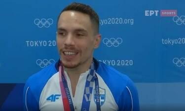 Ολυμπιακοί Αγώνες: Οι πρώτες δηλώσεις του Πετρούνια μετά το χάλκινο - Το «ευχαριστώ» στην Μιλλούση