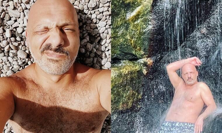 Νίκος Μουτσινάς: Αυτό είναι το αξεσουάρ που δεν αποχωρίζεται στις διακοπές του