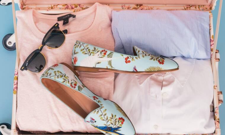 Φεύγεις για διακοπές; Τα tips που χρειάζεσαι για να φτιάξεις τη βαλίτσα σου τσακ μπαμ (video)