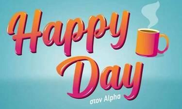 Happy Day: Αποχώρηση «βόμβα» από την εκπομπή του Alpha – Η ανακοίνωσή της!