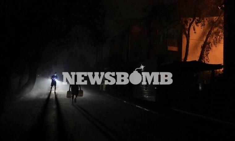 Φωτιά στη Βαρυμπόμπη: Χωρίς νερό τουλάχιστον 13 περιοχές της Αττικής