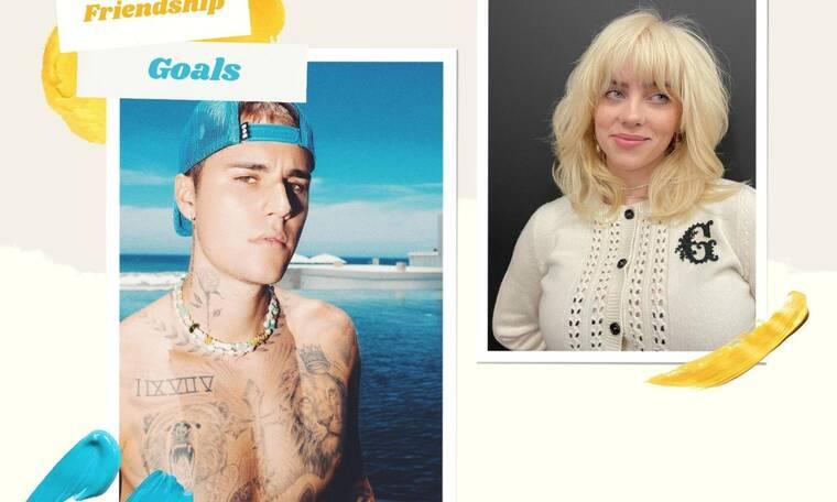 Ο Justin Bieber και η Billie Eilish έχουν αναπτύξει μια ιδιαίτερη σχέση