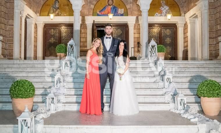 Αποκλειστικό: Μπασκετικός γάμος με δώρο βίντεο κλιπ!