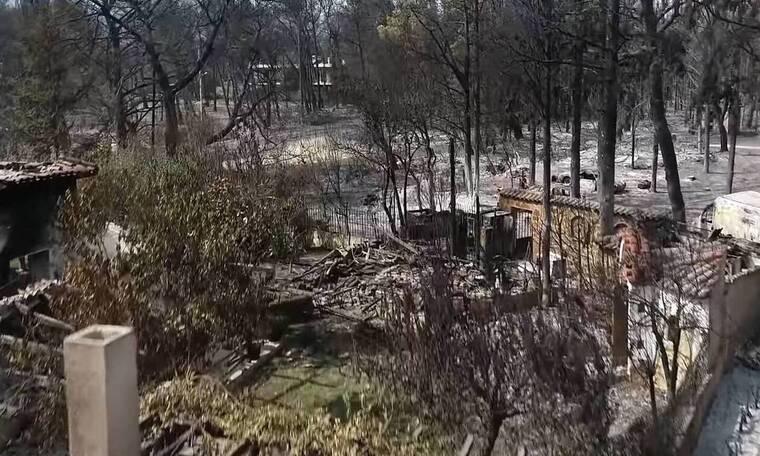 Φωτιά Βαρυμπόμπη: Εικόνες που σου μαυρίζουν την ψυχή (video)