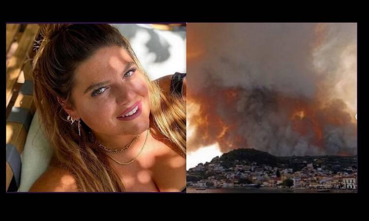 Συγκλονισμένη η Δανάη Μπάρκα για την καταστροφή στην Εύβοια: «Βιώνουν αυτή την τραγωδία...»