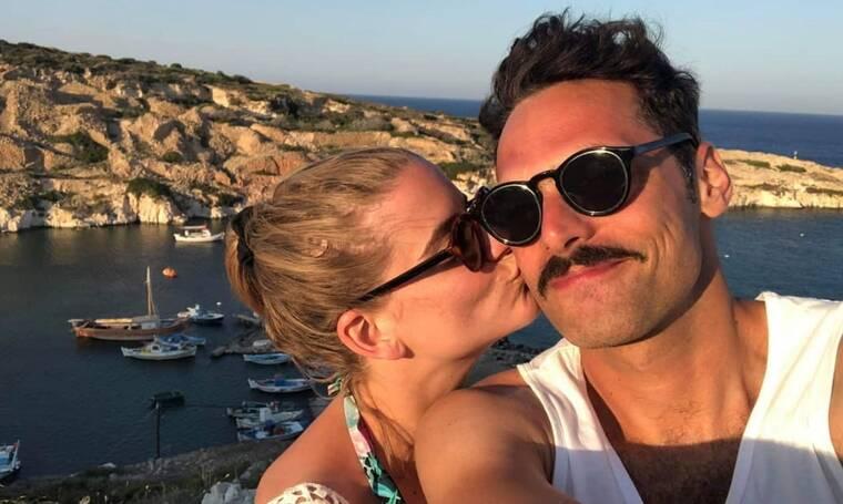 Δανάη Μιχαλάκη-Γιώργος Παπαγεωργίου: Στη Σύρο για τον γάμο τους! Οι πρώτες εικόνες!