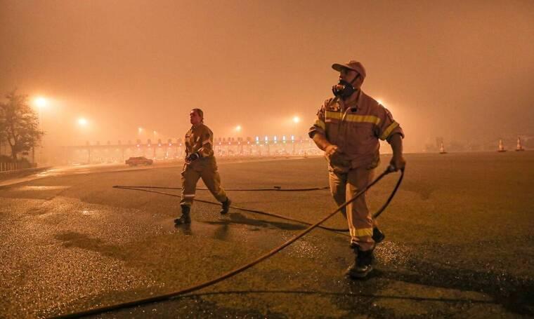 Φωτιά στην Αττική: Δραματική η κατάσταση στις Αφίδνες, εκκενώνεται και το Καλέντζι