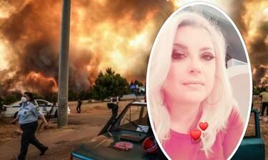 Νάνσυ Νικολαΐδου: Κάηκε το πατρικό της σπίτι στις Αφίδνες! Τα σπαρακτικά posts στο Facebook