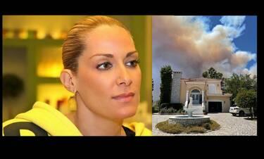 Αποκλειστικό: Ορθούλα Παπαδάκου για τη φωτιά στο Γύθειο:«Κάνουμε το σταυρό μας να πάνε όλα καλά»!