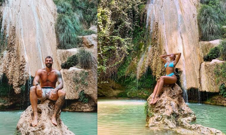 Τούνη-Αλεξάνδρου: Ερωτευμένοι στη Μεσσηνία! Οι νέες κοινές φωτό από τις διακοπές τους!